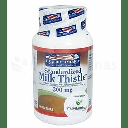 Milk Thistle Healthy America 300 mg