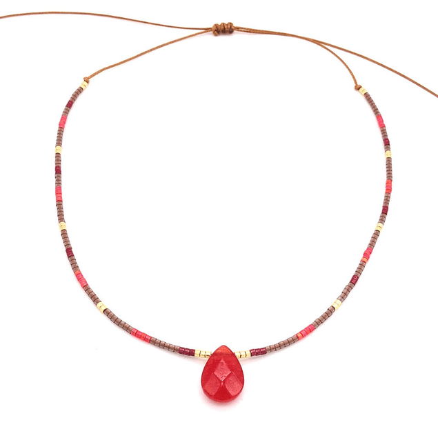 Collar Gota de Agata #3