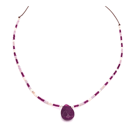 Collar Gota de Agata #6