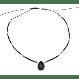Collar Gota de Agata #9