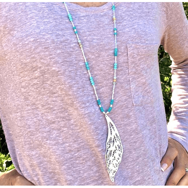 Collar XL Turquesa