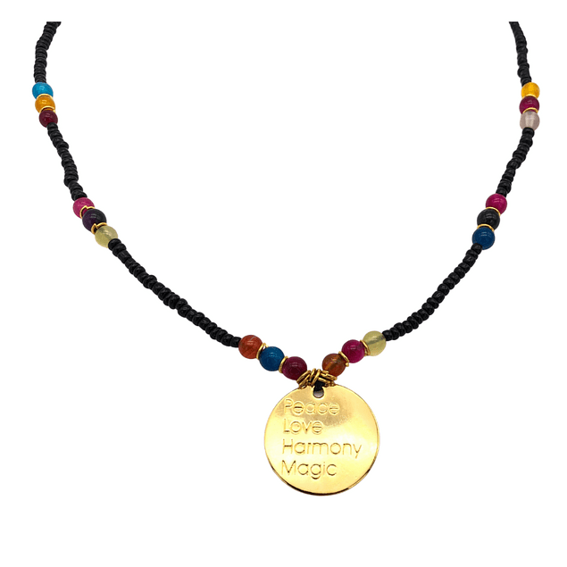 Collar XL medalla #2
