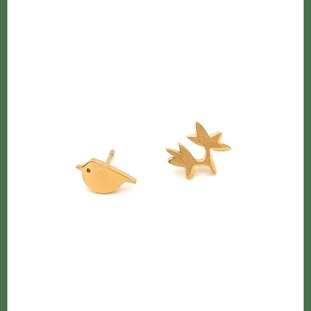 Aros Pajaro y rama