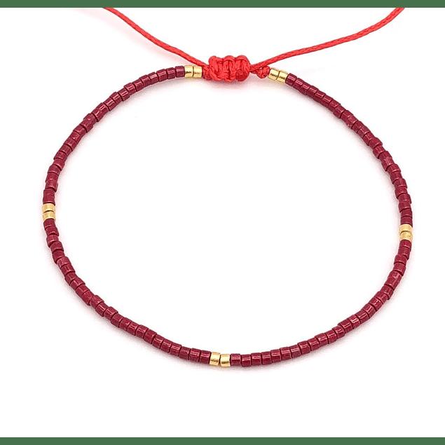 Pulsera Rojo Escarlata #9