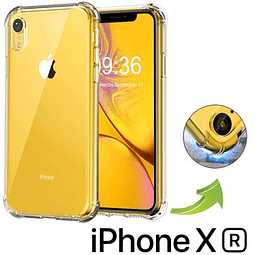Carcasa iPhone XR Transparente Borde Reforzado