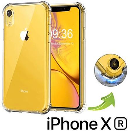 Carcasa iPhone XR Transparente Bordes reforzados