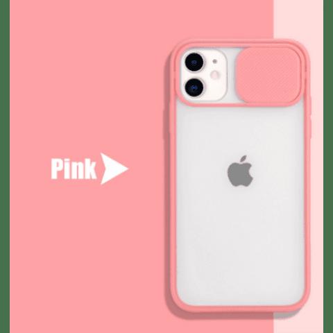 Carcasas iPhone 11 Pro Bordes Colores y Camara Cubierta