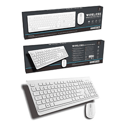 Teclado + Mouse inalambrico