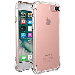 Carcasa  iPhone 7 / 8 / SE 2020 Transparente Borde Reforzado