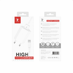 Pack Cargador Lightning (Cable+ Adaptador)