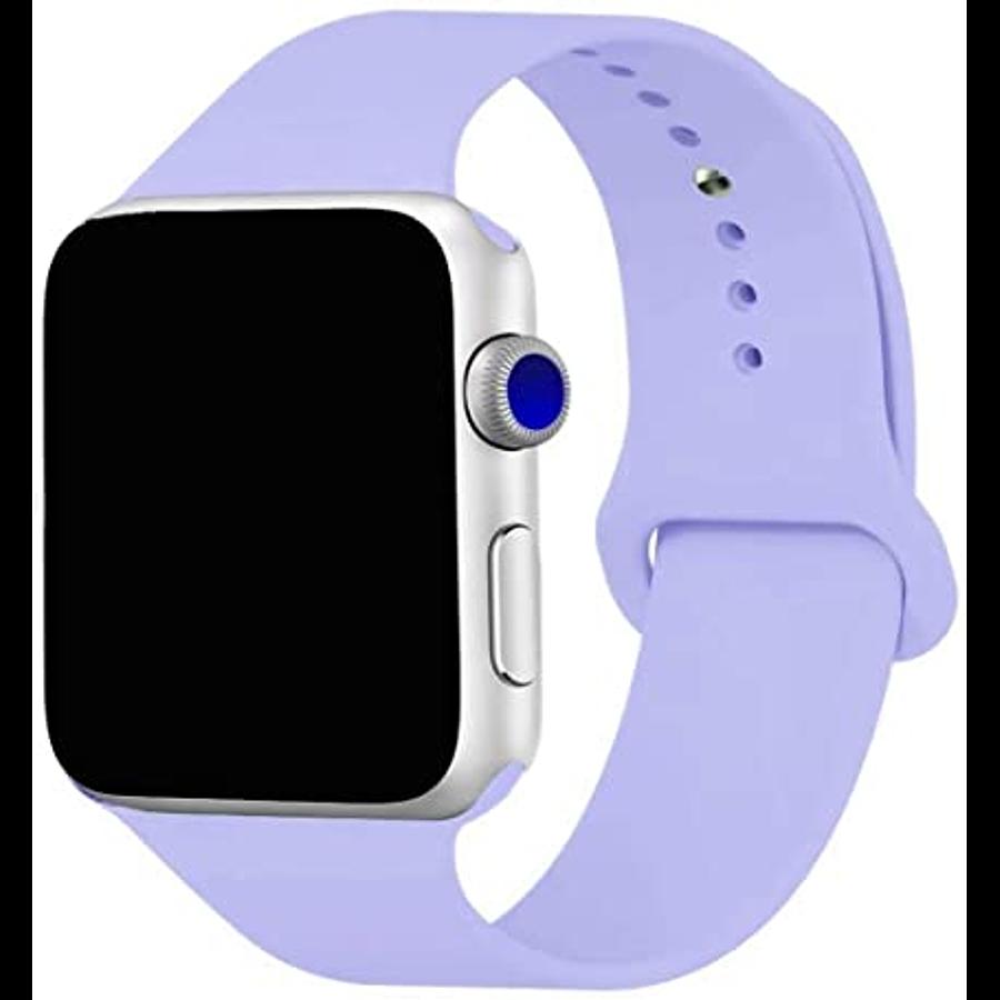Correa de silicona para Apple Watch - 3 piezas SM / ML