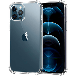 Carcasa iPhone 12 Pro Max Transparente - Borde reforzado