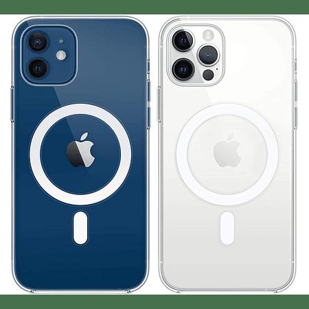 iPhone 12 / 12 Pro - Carcasa Transparente con Magsafe
