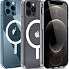 iPhone 12 Pro Max - Carcasa Transparente con Magsafe
