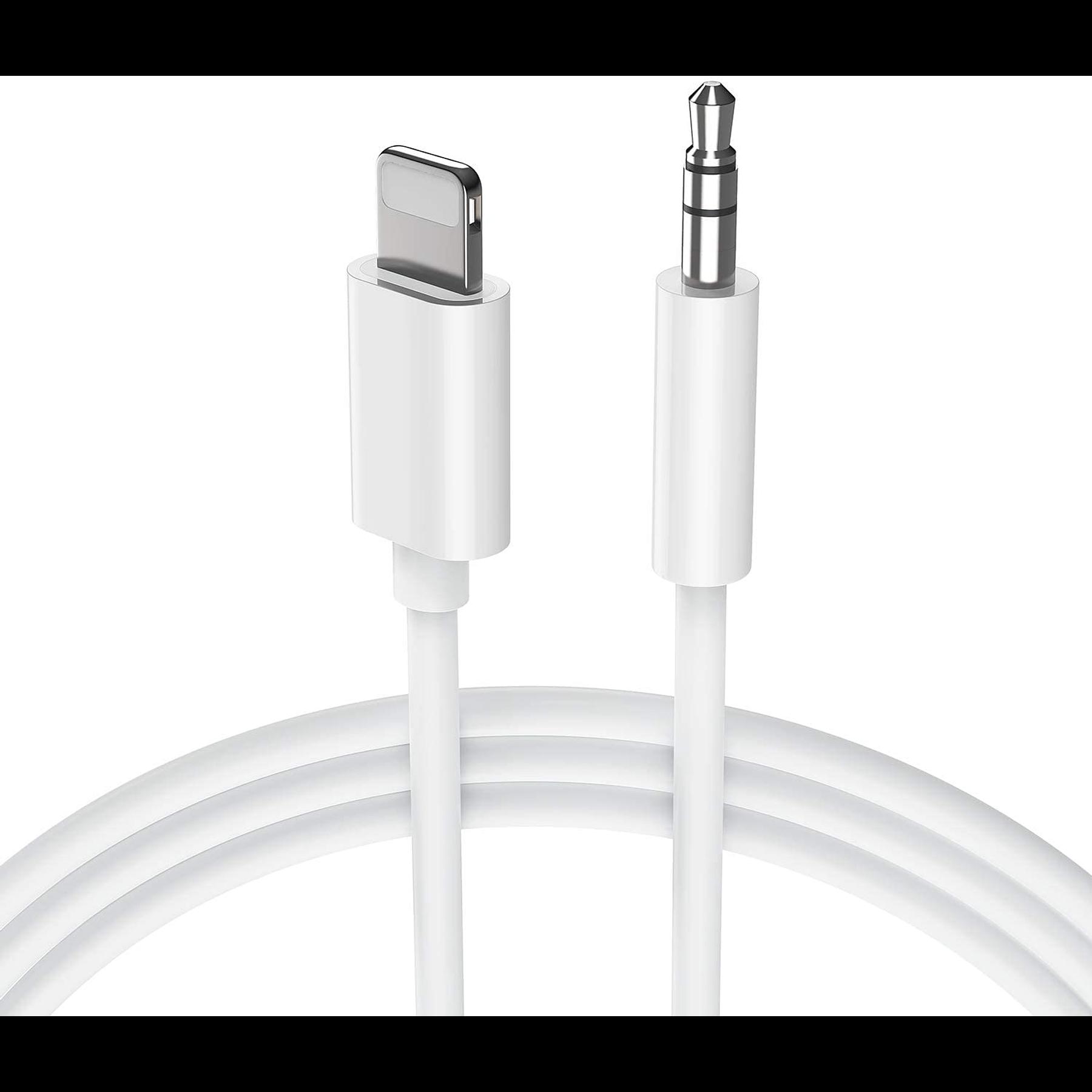 Cable Adaptador Lightning a Auxiliar 3.5