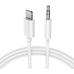 Cable Adaptador Lightning a Auxiliar 3.5