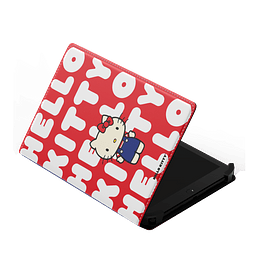 "Funda Universal Tablet 7/8"" - Hello Kitty Letras"