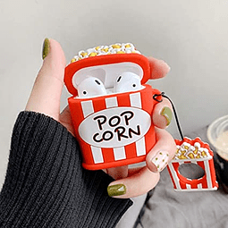 AirPods 1/2 - Carcasa Pop Corn