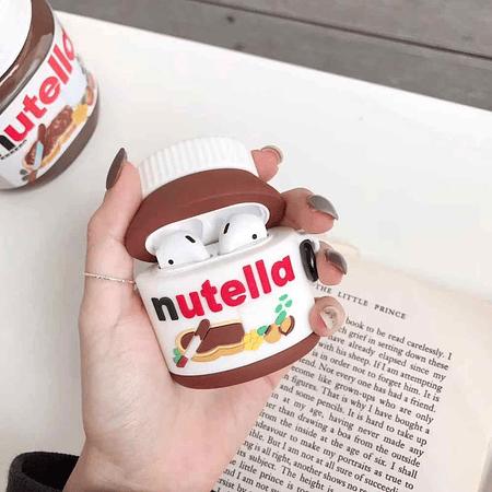 AirPods 1/2 - Carcasa Nutella