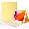 Funda + Teclado iPad 10.2 / 10.5 (Color: Amarillo)