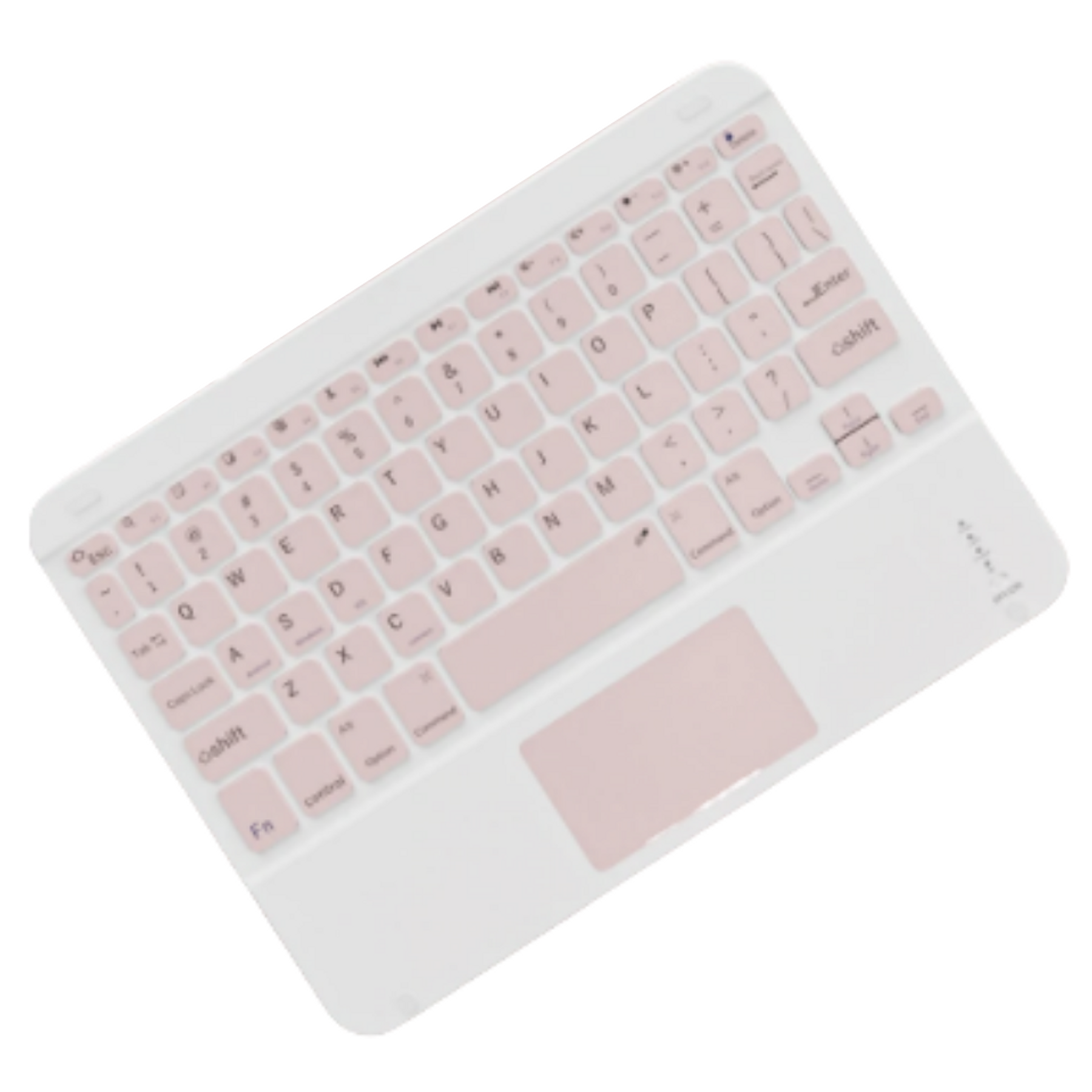 Teclado Bluetooth con Mouse (Color: Rosa)