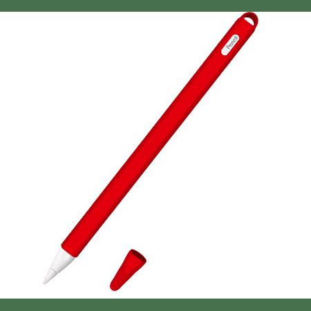 Protector Apple Pencil 2da Generación - Rojo