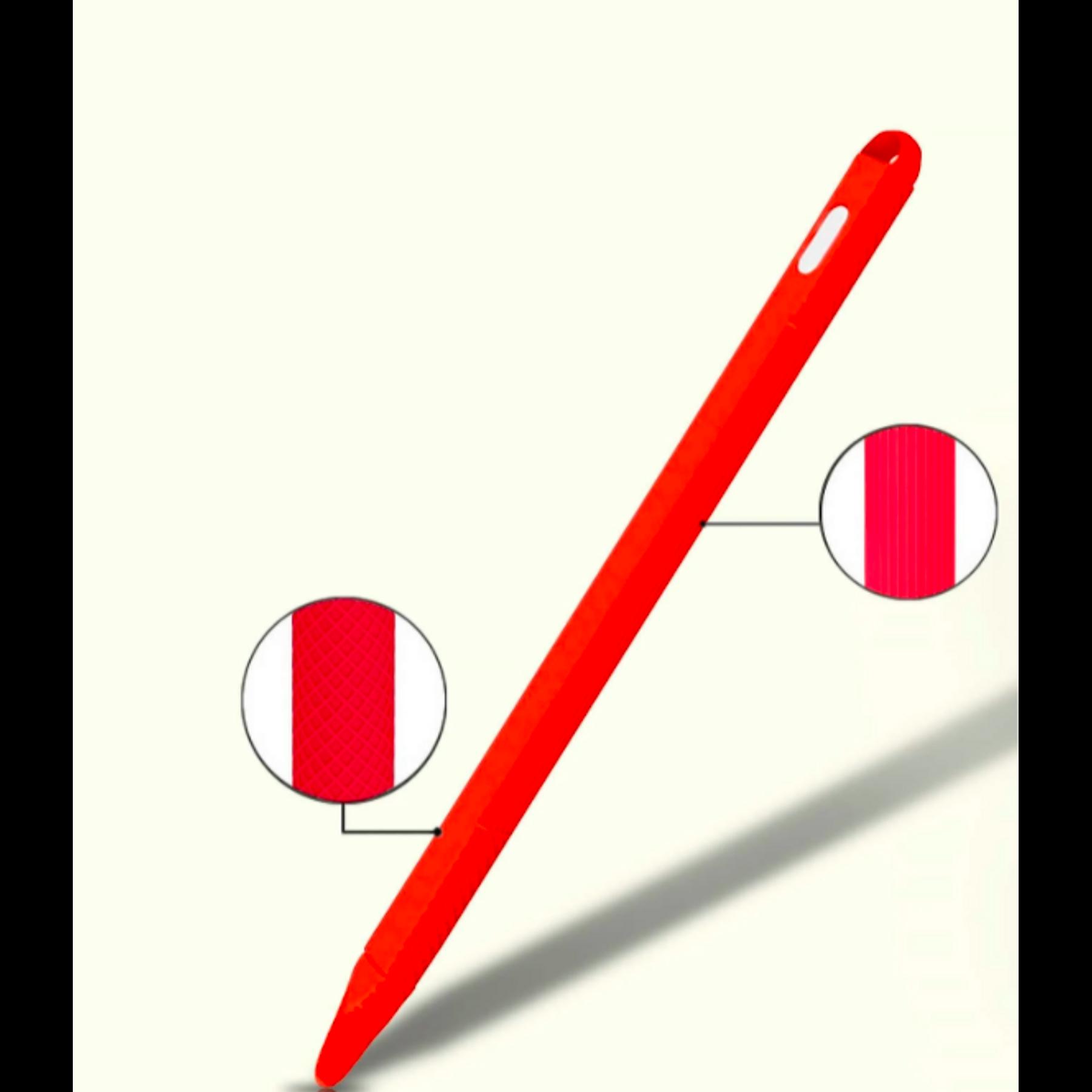 Protector Apple Pencil 1ra Generación - Rojo