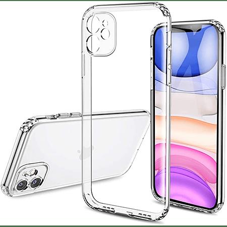 "Carcasa iPhone 12 (6.1"") - Transparente Camara Cubierta"