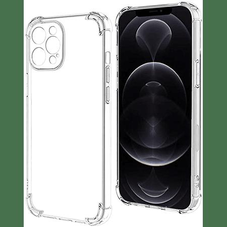 "Carcasa iPhone 12 Pro (6.1"") - Transparente Camara Cubierta"