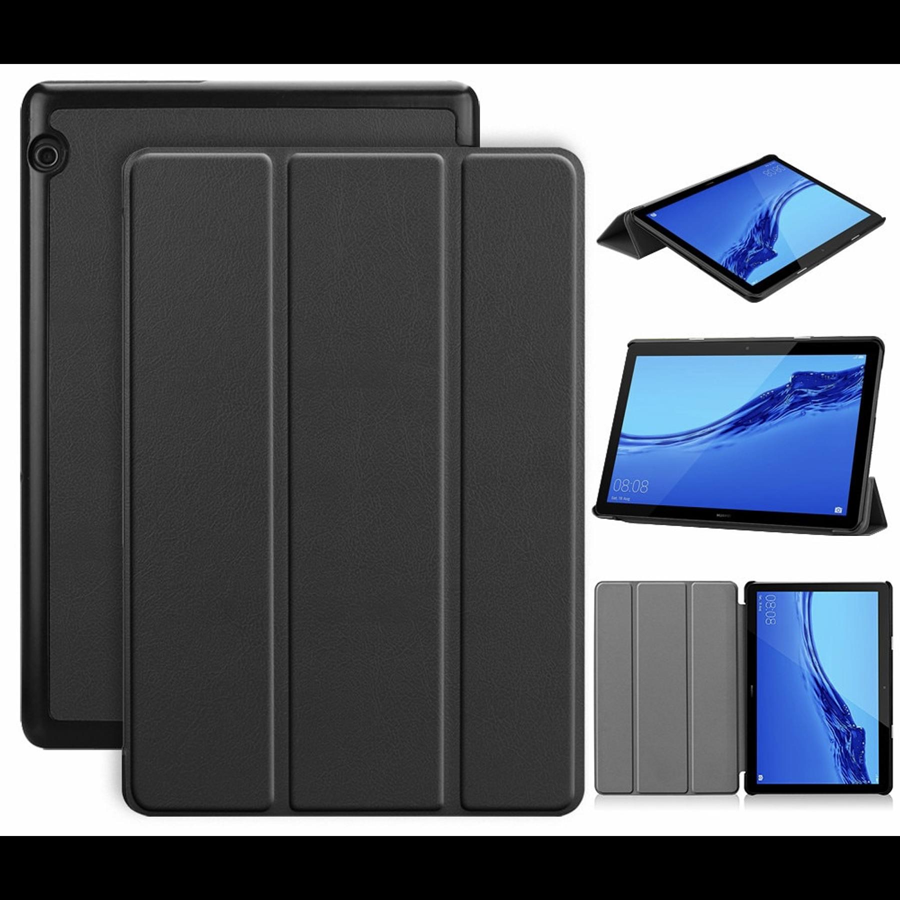 "Huawei Mediapad T5 10 10.1"" - Funda Smart Cover (Color Negro)"
