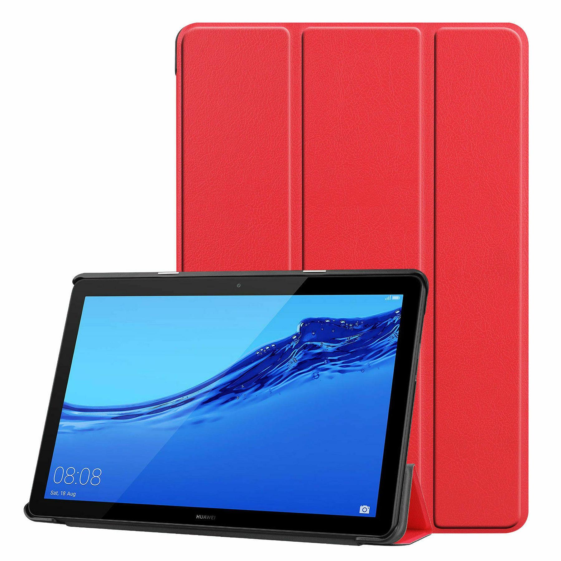 "Huawei Mediapad T5 10 10.1"" - Funda Smart Cover (Color Rojo)"
