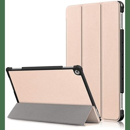 """Huawei Mediapad M5 Lite 10"""" - Funda Smart Cover (Color Dorado)"""