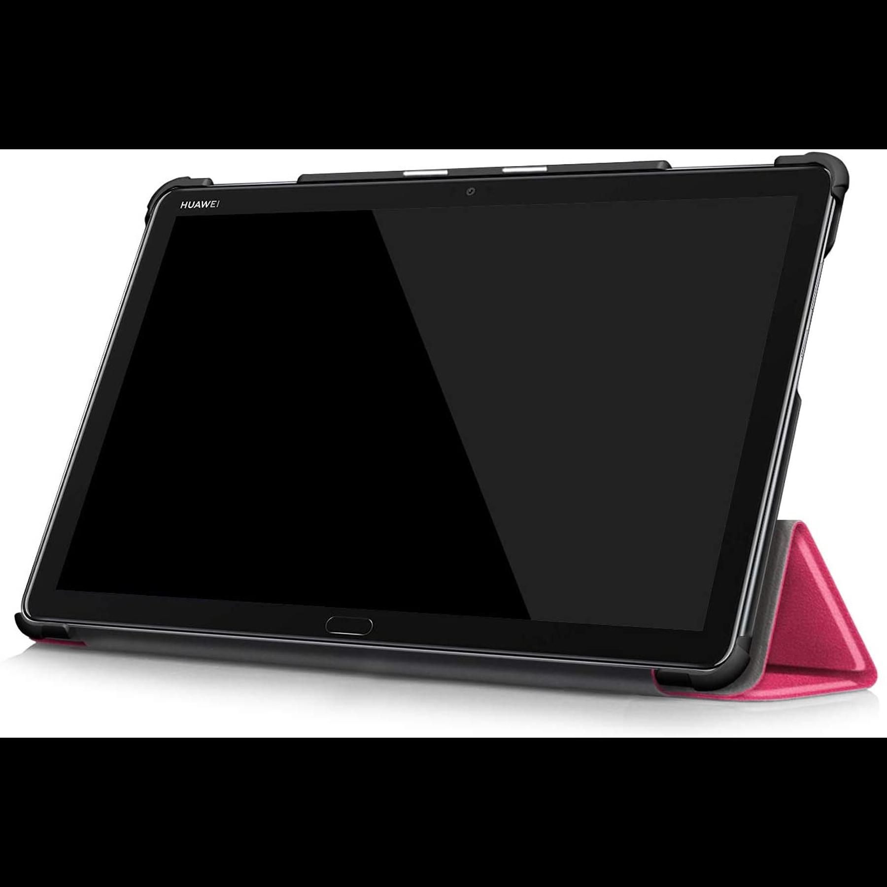 "Huawei Mediapad M5 Lite 10"" - Funda Smart Cover (Color Fucsia)"