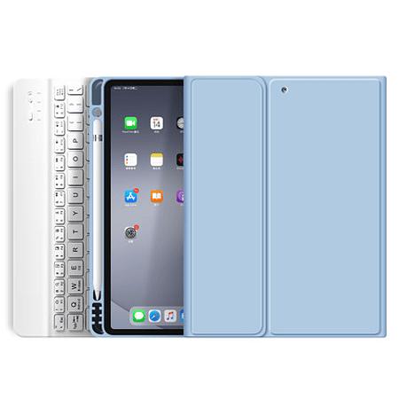 "Funda + Teclado iPad Mini 4 / 5 (7.9"") (Color: Celeste)"