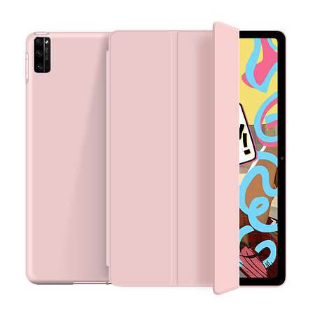 "Huawei Matepad New 10.4"" 2020 - Funda Ranura M-Pencil (Color: Rosado)"
