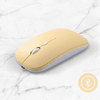 Mouse Bluetooth e inalámbrico para iPad, Tablet, PC, Notebook.