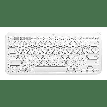 Teclado Logitech K380 Bluetooth Blanco