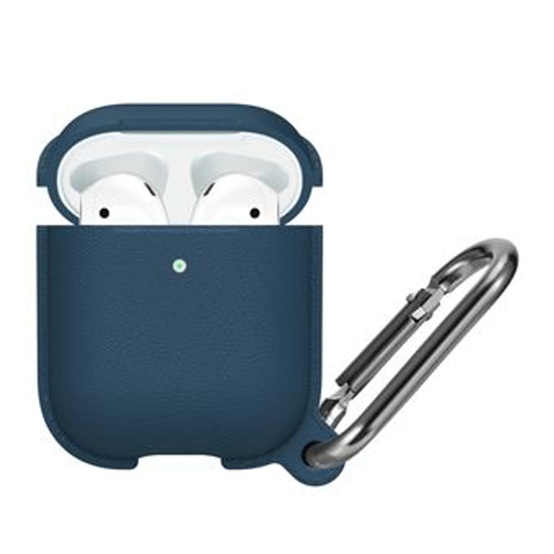 Carcasa AirPods 1 / 2 Azul Oscuro - Calidad Premium
