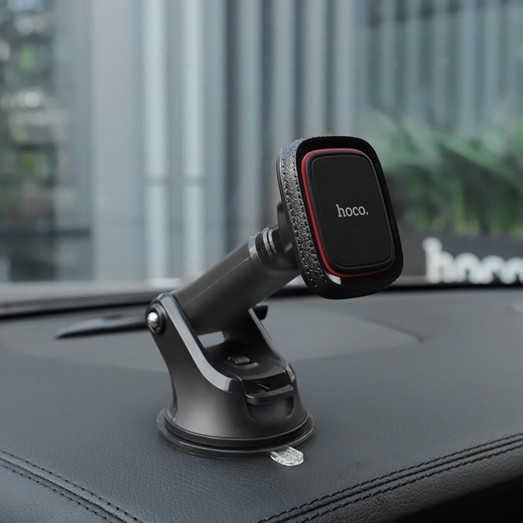 Soporte Magnético de Celular para Automóvil con Ventosa - Hoco
