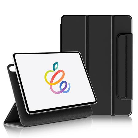 """iPad Air 4 10.9"""" - Funda Magnetica con Espacio Apple Pencil (Color: Negro)"""