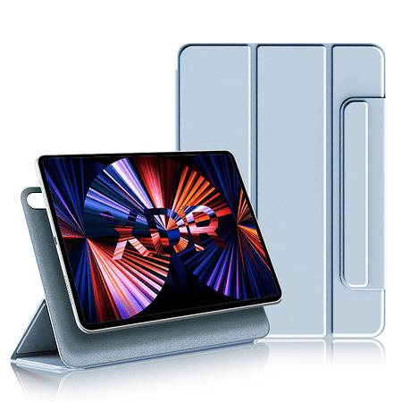 """iPad Air 4 10.9"""" - Funda Magnetica con Espacio Apple Pencil (Color: Celeste)"""