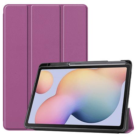 "Funda Samsung Tab S6 Lite 10.4"" - Ranura S Pen (Color: Morado)"