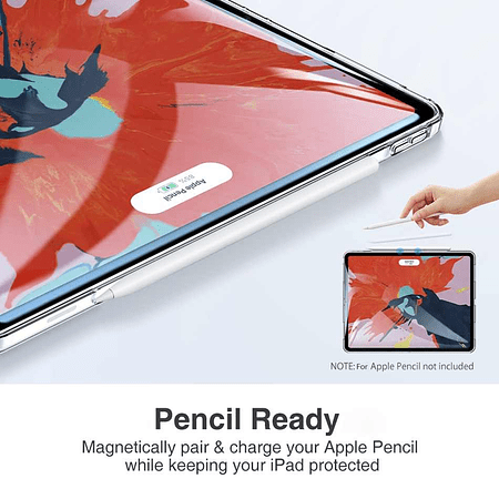 "Carcasa De Silicona Transparente iPad Pro 11"" M1 2021"
