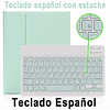 Funda + Teclado Verde Agua iPad 10,2