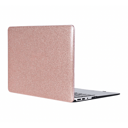 "Carcasa MacBook Air 13.3"" (Modelo: A1369/A1466) - Glitter Rose Gold"