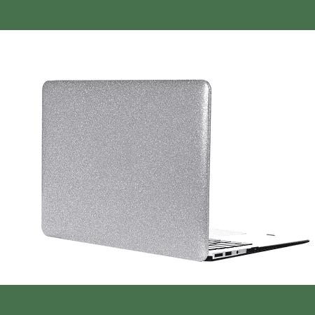 """Carcasa MacBook Air 13.3"""" (Modelo: A1369/A1466) - Glitter Silver"""