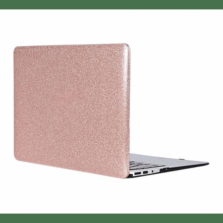 """Carcasa New MacBook Air 13"""" Retina (Model A1932/A2179/A2337 M1 - Glitter Rose Gold"""