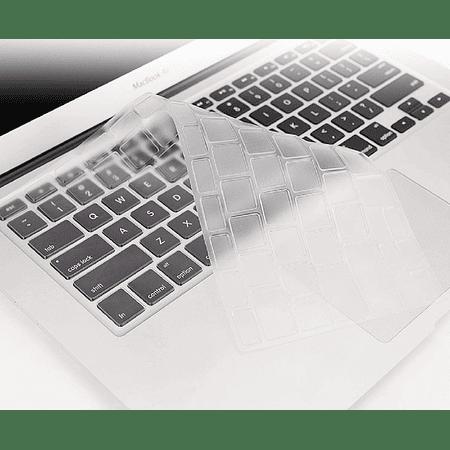 """Protector de Teclado Transparente - MacBook Air 13.3"""" (Modelo: A1369/A1466)"""