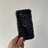 Carcasa iPhone 12 / 12pro - Leopardo Negro