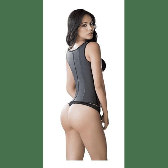 FAJA CHALECO LÁTEX  TIRAS ANCHAS (entrenador de cintura)